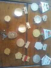 More details for a collection of soviet old war medals and collectables