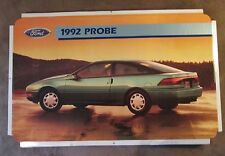 """Ford Probe 1992 Dealer Showroom Promotional Photo Poster 22 1/2"""" x 14"""""""
