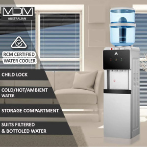 Aimex Water Cooler Dispenser Hot and Cold Ambient Tap Filter Purifier 20L Bottle