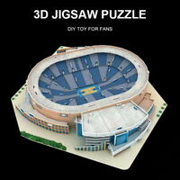 3D Puzzle Toy Basketball Building Architecture Model DIY  Jigsaw DIY Puzzles Toy