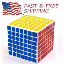 ShengShou 7x7 3inch Speed Cube White Twisty Magic Puzzle USA SELLER