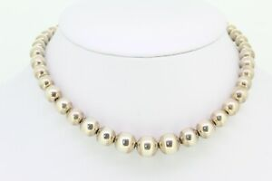 Tiffany & Co. Necklace -  925 Sterling Silver Beaded Necklace