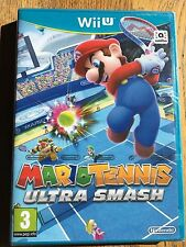 Mario Tennis Ultra Smash - Wii U Nintendo UK Release Factory Sealed!