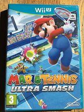 Mario Tennis Ultra Smash-Wii U Nintendo UK release sellado de fábrica!