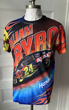 William Byron #24 All Over Print T-Shirt Size M NASCAR Hendrick Motor Sports