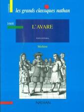 L'AVARE  MOLIERE NATHAN 1995 LES GRANDES CLASSIQUES NATHAN