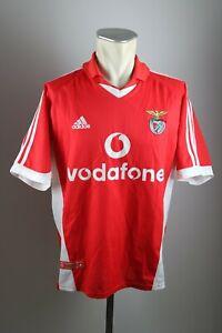 Benfica Lissabon Trikot 2001-2002 Gr. L Adidas vodafone S.L.B Home Shirt jersey