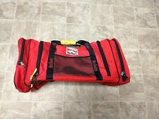 Marlboro Adventure Team Vintage Red Large Duffle Travel Bag