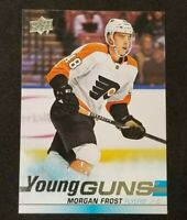 2019-20 Upper Deck Hockey Young Guns RC Morgan Frost #469 Philadelphia Flyers