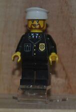 Lego Minifigure Mini Figure City 2011 Police Officer Captain 7498 Authentic