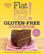 Flat Belly Diet! Gluten-Free Cookbook: 150 Delicious Fat-Blasting-ExLibrary