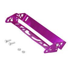 Aluminum Adjustable Rotating Number JDM Car License Plate Frame Holder PURPLE