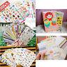8/10/12/24 Sheet Calendar Diary Notebook Memo Scrapbook Paper Decoration Sticker