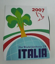 2007 World Scout Jamboree ITALY / ITALIAN SCOUTS Contingent Handbook ~ RARE