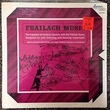 SEALED ABE ELLSTIEINS ORCHESTRA with DAVE TARRAS - Frailach Music  Vinyl LP NEW