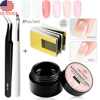 MEET ACROSS 8ML Nail Extension Building Gel Polish UV LED Varnish Manicure Tools