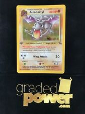 Pokemon Prerelease Fossil 1st Edition Promo AERODACTYL 1/62 NM / NM-