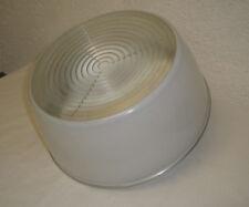 Luminaire plafonnier dlg HOLOPHANE TBE diamètre 35 cm années 60