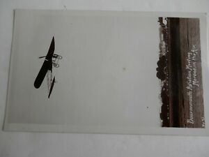 Vintage Aviation Postcard. Early Card. Morane in the Air. Bournemouth Aviation.