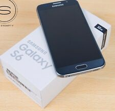 New In Box Samsung Galaxy S6 Blue G920a GSM for ATT Network