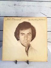 Neil Diamond LP You Don't Bring Me Flowers (Barbra Streisand duet) FC35625