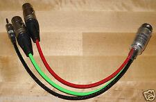10 PIN Hirose Breakout Sound Devices 302 633 TELAIO Snake cavo breakout CODE XLR