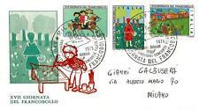 ITALIA REP. - 1975 - Giornata del Francobollo - XVII° giornata su FDC - (B)