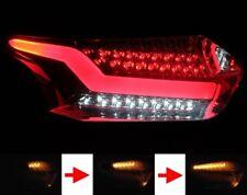 LED BAR RÜCKLEUCHTEN für FORD FOCUS MK3 DYB 2014- SMOKE ROT SCHWARZ LIGHTBAR SEQ
