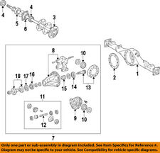 TOYOTA OEM Rear Differential-Pinion Spacer 4123124010