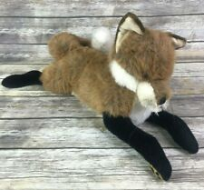 Merrythought Fox Plush Lying Down Merry Thought Made In England Rare Over 2 Feet