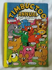Vintage Timbuctoo Annual By Roger Hargreaves 1978 Brown Watson Unclipped