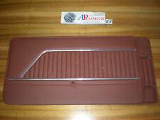 919 COPPIA PANNELLI PORTA (DOOR PANELS) ANTERIORE MATTONE AUTOBIANCHI A112