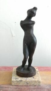 """HENRI MATISSE BRONZE SCULPTURE """" SILHOUETTE """" SIGNED AND NUMBERED"""