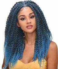 "Destiny - LACE WIG - SPRING TWIST BRAID 24"" (4?x 4"" Lace Wig) with Baby Hair"