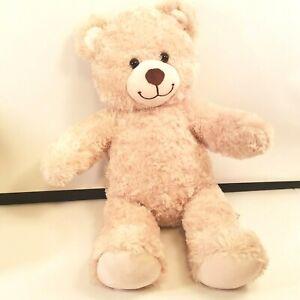 """Build a Bear Plush Curly Teddy Bear 17"""" BAB Paw Plushie Stuffed Animal Toy"""