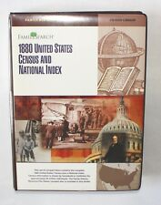FamilySearch: 1880 United States Census & National 56 CD-ROM Library Windows 95