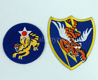 WWII US AIR FORCE FLYING TIGER PATCH AVG PATCH-0150