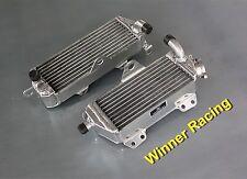 aluminum radiator for Kawasaki KDX200/KDX220 KDX 200 KDX 220 1997-2006 98 99 L+R
