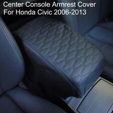 Car Armrest Pad Cover PU Leather Pad Auto Center Console Box for Honda Civic