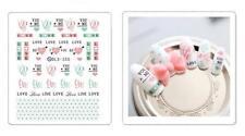 Amor Usted me San Valentín Manicura Pegatina Adhesiva Decoración Manicura