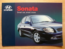 HYUNDAI SONATA 2000 UK Mkt sales brochure