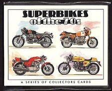 SUPERBIKES of the 70's Collectors Card Set - BMW, Laverda, Ducati, Moto Guzzi