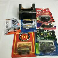 Vintage Hot Wheels LOT 8 Matchbox Nascar McDonalds Toy Racing Petty Goodyear