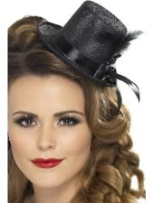 Mini Tophat Adult Womens Smiffys Fancy Dress Costume Hat