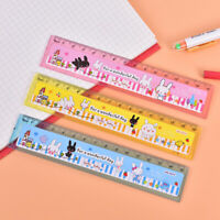 2pcs 15cm(5.9in) Cartoon Piano Musical Note Ruler bookmarks School Student Gift