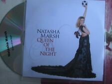 Natasha Marsh ‎–  	Queen Of The Night (Der Holle Rache)  UK Promo CD Single