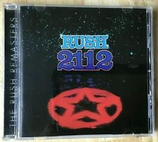 RUSH - 2112 - CD Remaster - Geddy Lee & Neil Peart - Anthem Remastered Disc USA