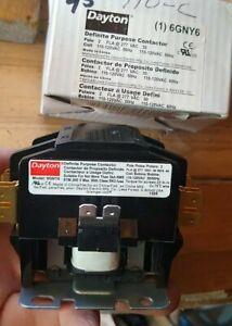 DAYTON 6GNY6  Definite Purpose Contactor 120 VAC  30A