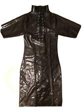 Latex Kleid Rauchgrau Transparent, Gr. M,  Ungetragen