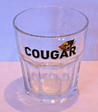 Rare Cougar Tumbler Glass